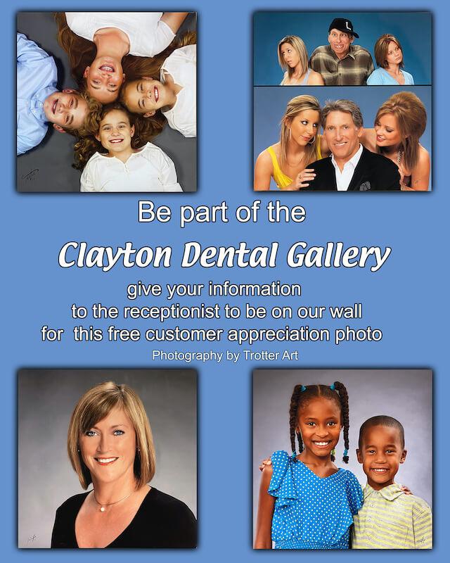 Clayton Dental Ad